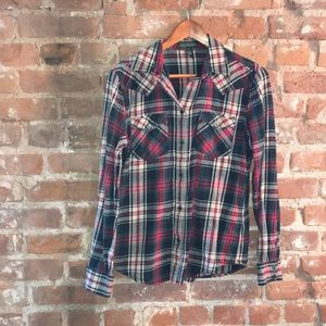 Ralph Lauren Red and Green Cotton Flannel